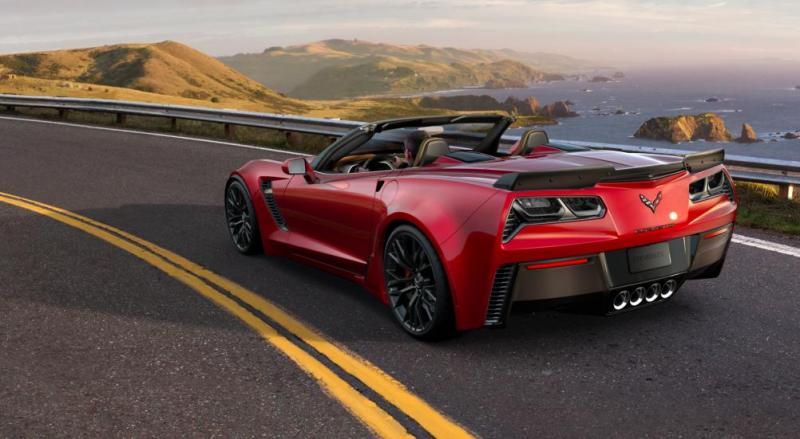 2015 CHevrolet Corvette Z06 Convertible -  Visualizer of All COLORS and WHEELS 47