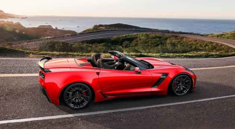2015 CHevrolet Corvette Z06 Convertible -  Visualizer of All COLORS and WHEELS 49