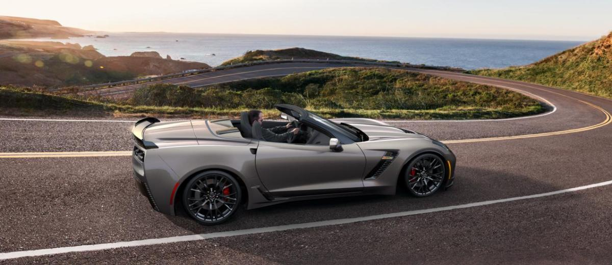 2015 CHevrolet Corvette Z06 Convertible -  Visualizer of All COLORS and WHEELS 5