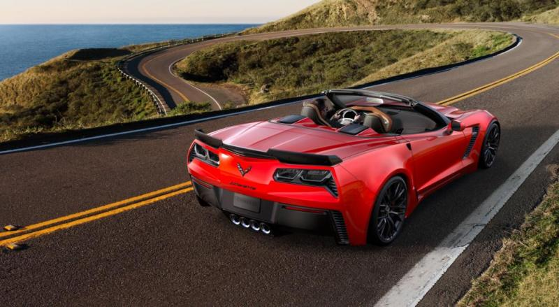 2015 CHevrolet Corvette Z06 Convertible -  Visualizer of All COLORS and WHEELS 50