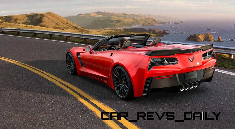 2015 CHevrolet Corvette Z06 Convertible -  Visualizer of All COLORS and WHEELS 51