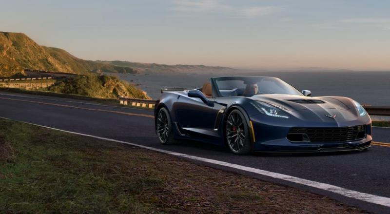 2015 CHevrolet Corvette Z06 Convertible -  Visualizer of All COLORS and WHEELS 56