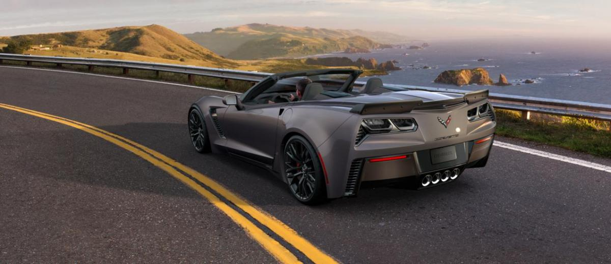 2015 CHevrolet Corvette Z06 Convertible -  Visualizer of All COLORS and WHEELS 7