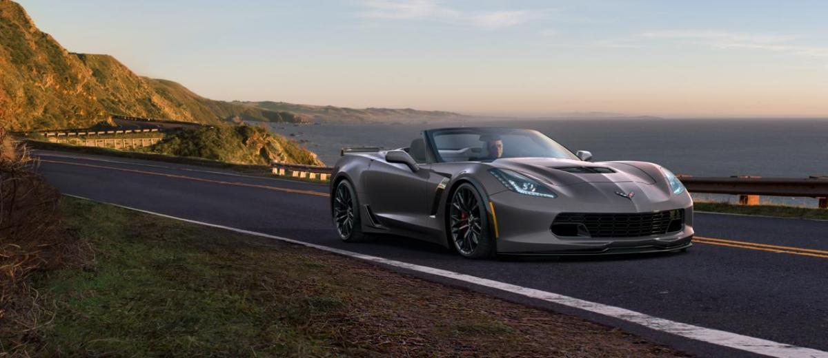 2015 CHevrolet Corvette Z06 Convertible -  Visualizer of All COLORS and WHEELS 8