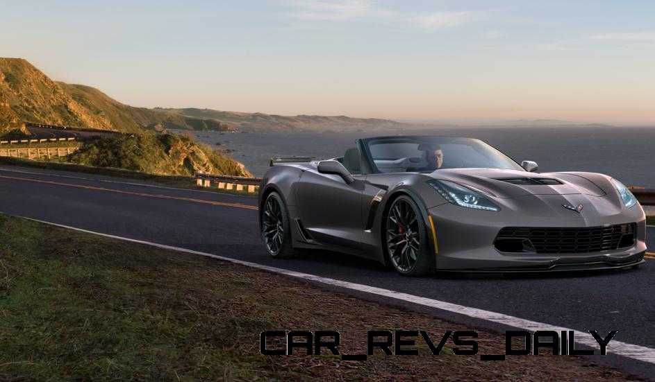 2015 CHevrolet Corvette Z06 Convertible -  Visualizer of All COLORS and WHEELS 9