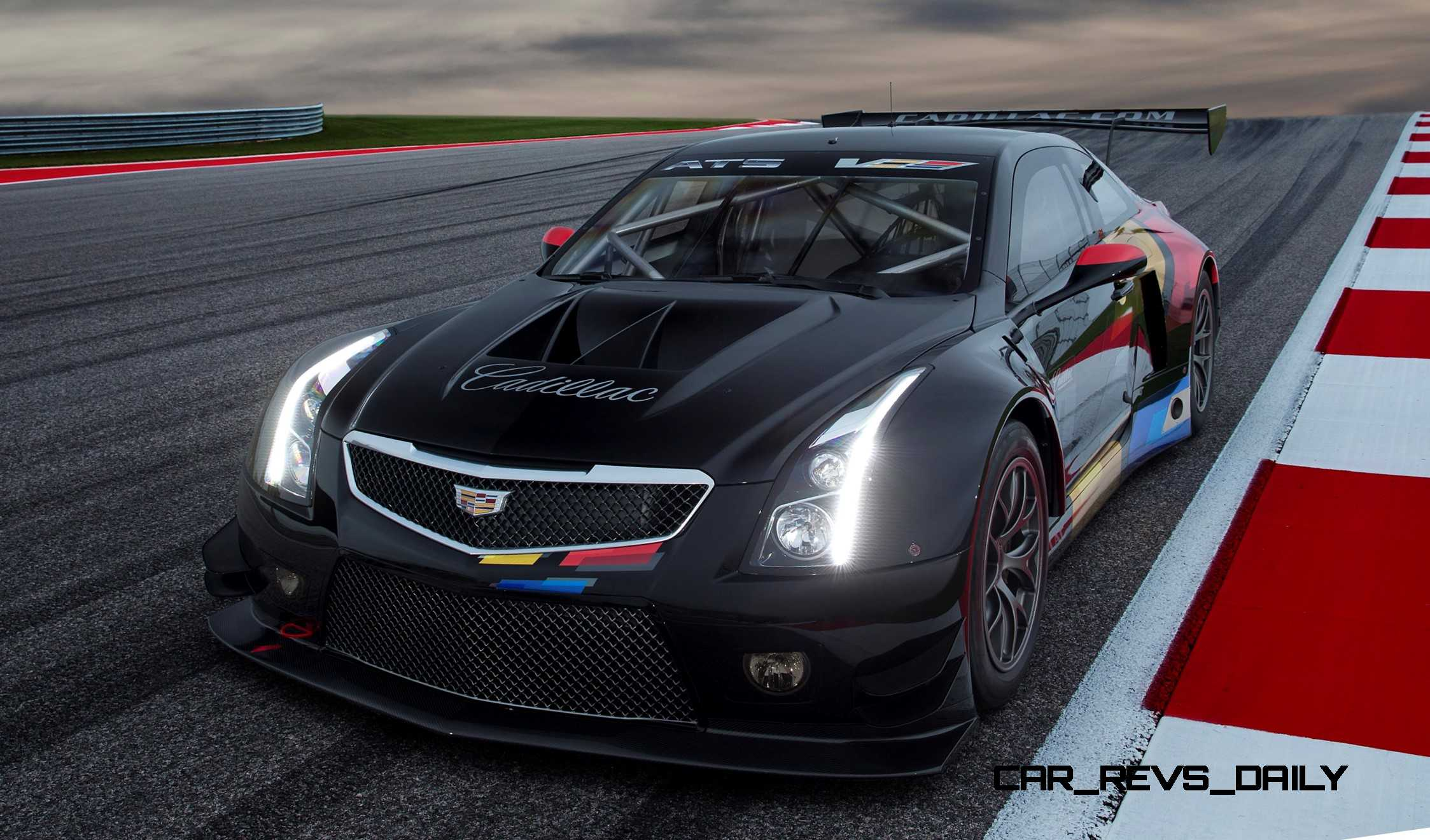Cadillac Ats V Coupe >> 2015 Cadillac ATS-V.R Is FIA GT3 Racecar Writ Large - In Cursive!