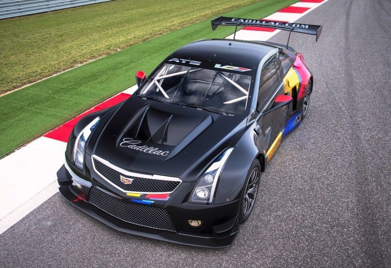 Cadillac Ats V Coupe >> 2015 Cadillac ATS-V.R Is FIA GT3 Racecar Writ Large - In ...