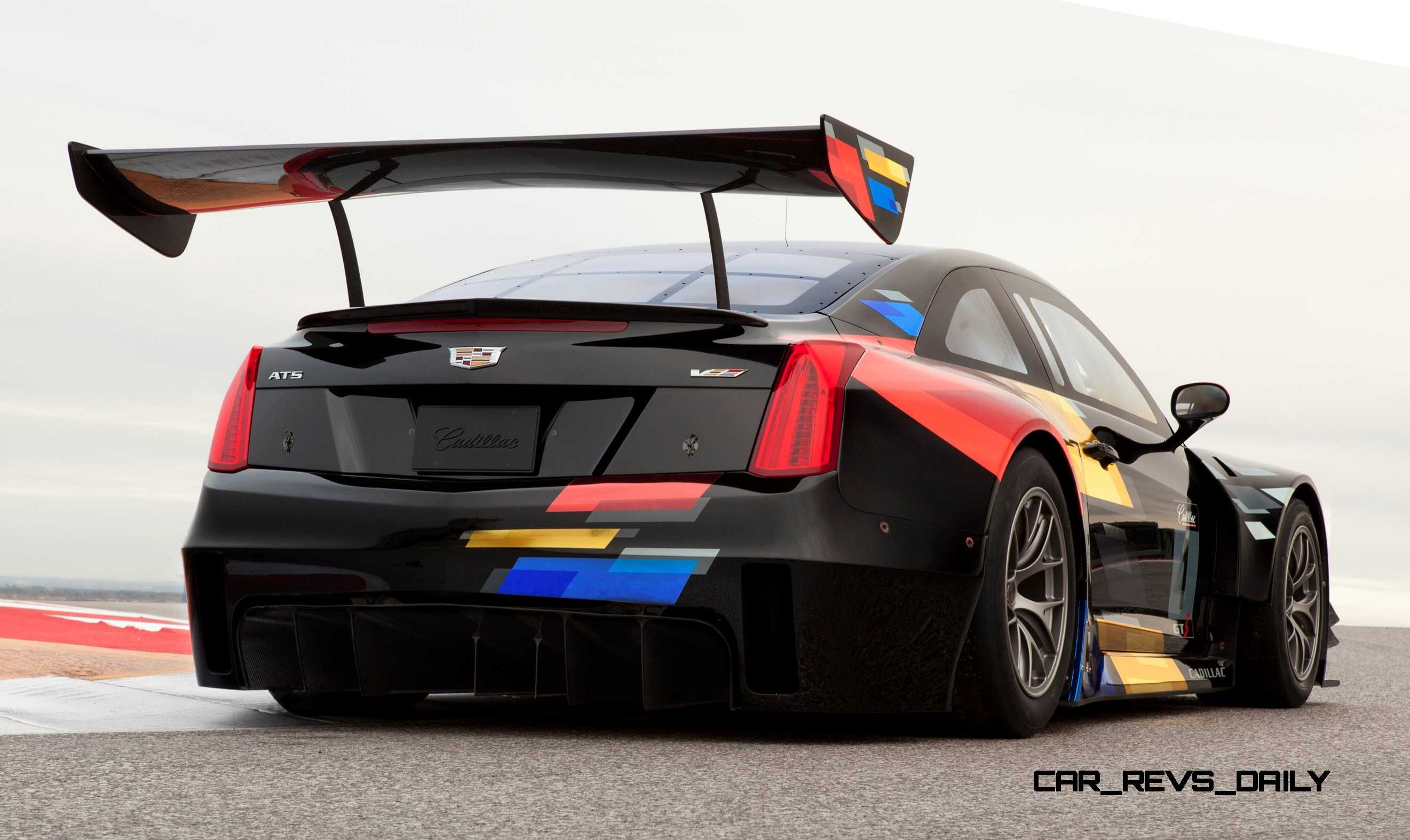2015 Cadillac Ats V R Is Fia Gt3 Racecar Writ Large In