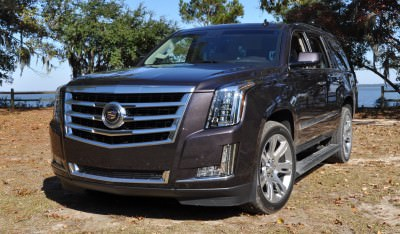 2015 Cadillac Escalade Luxury AWD 49