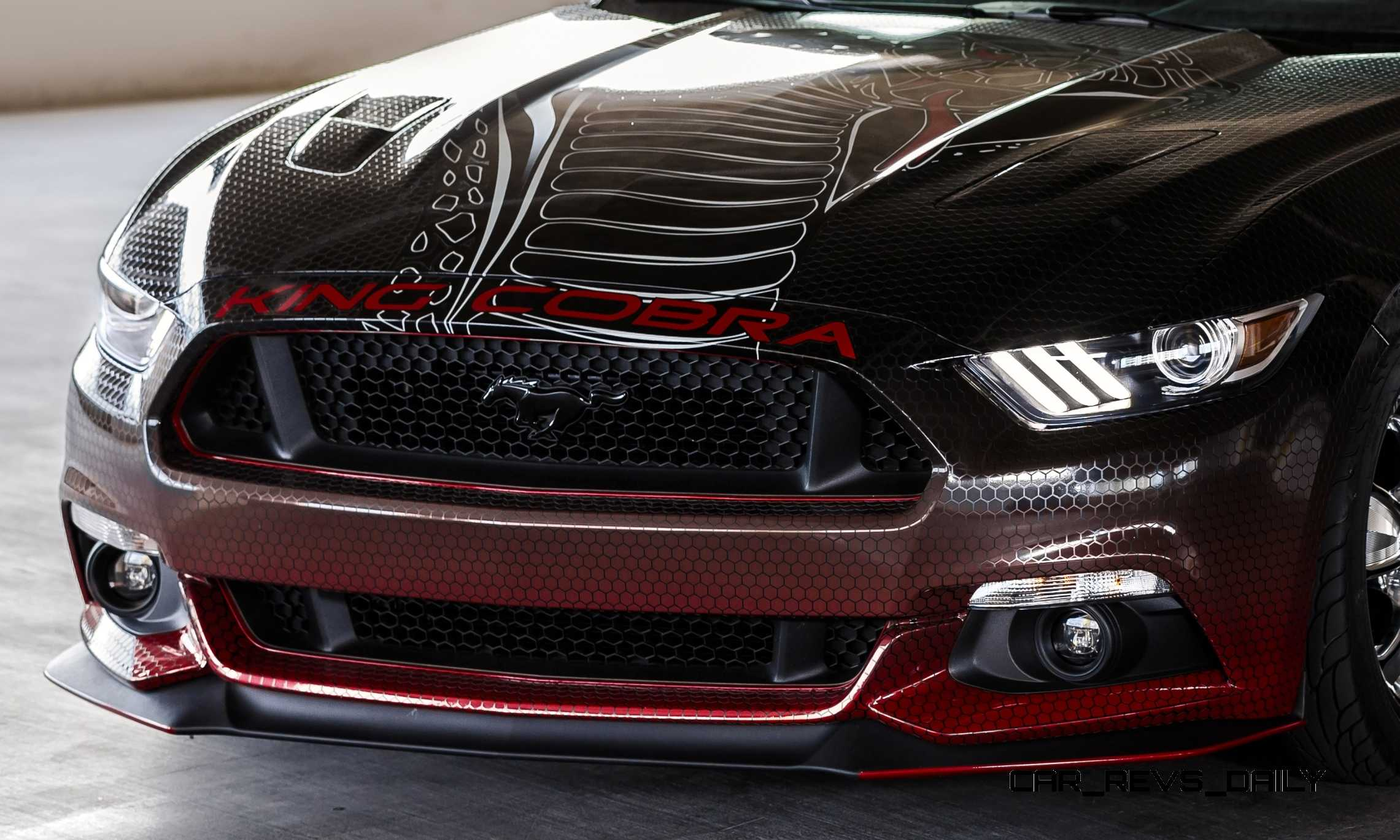 Ford Performance Parts >> 2015 Ford Mustang KING COBRA Is 625HP Factory-Parts Cobra Jet Upgrade List!