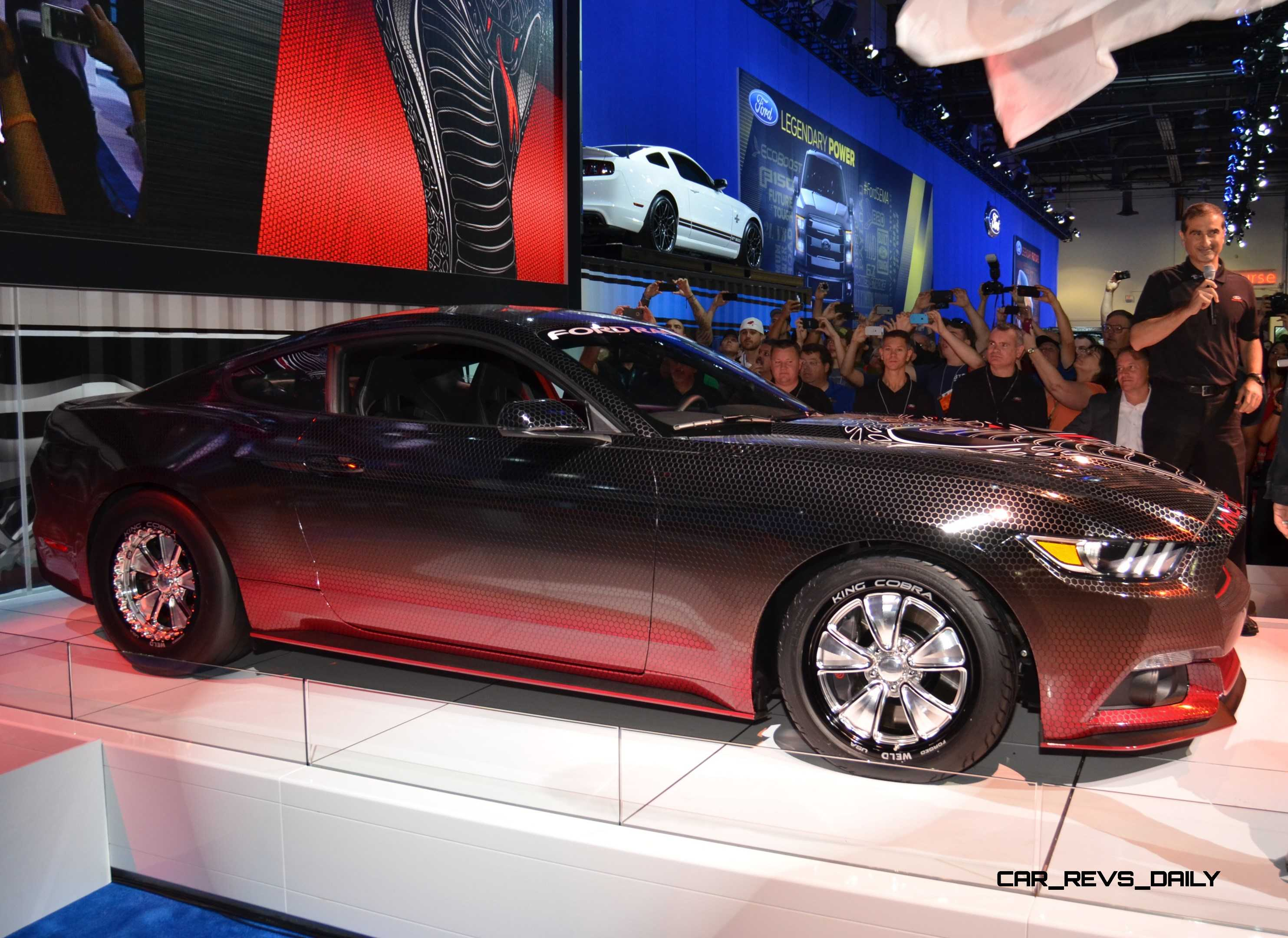 2015 ford mustang king cobra is 625hp factory parts upgrade list 5 - Ford Mustang King Cobra 2015