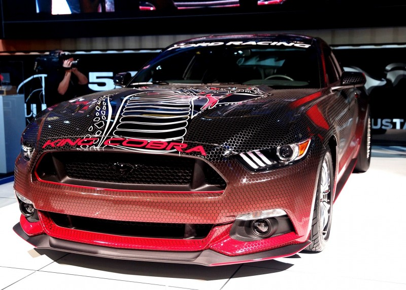 2015 Ford Mustang KING COBRA Is 625HP Factory-Parts Upgrade List 8