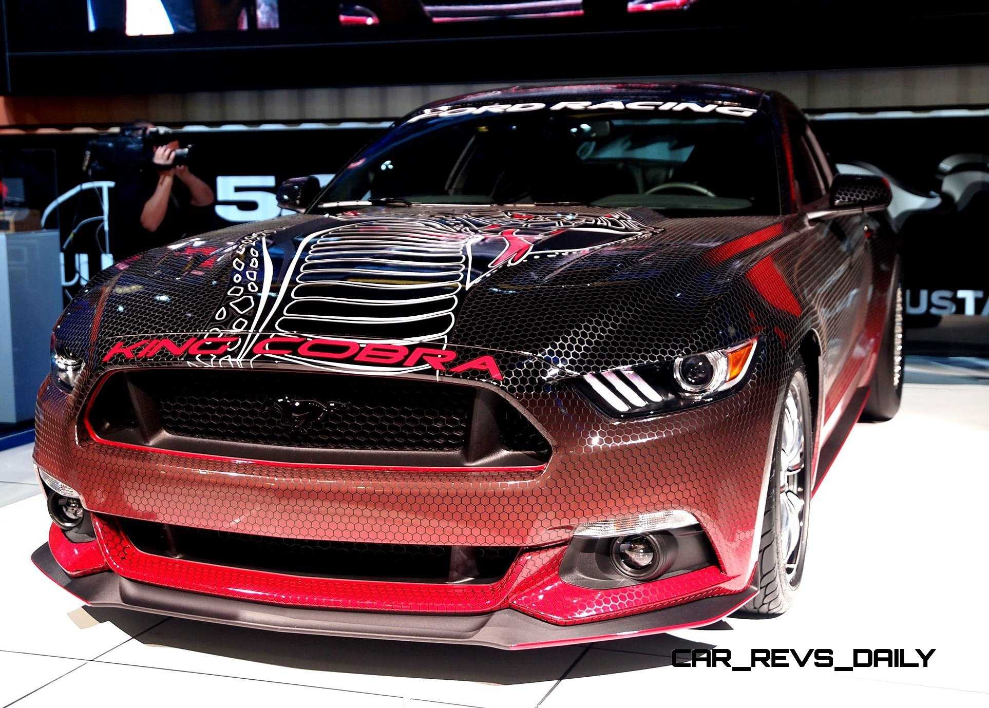 2015 ford mustang king cobra is 625hp factory parts cobra. Black Bedroom Furniture Sets. Home Design Ideas