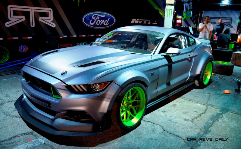 2015 Ford Mustang RTR Spec 5 Joins 'Ready to Rock' Custom Fords Catalog 1