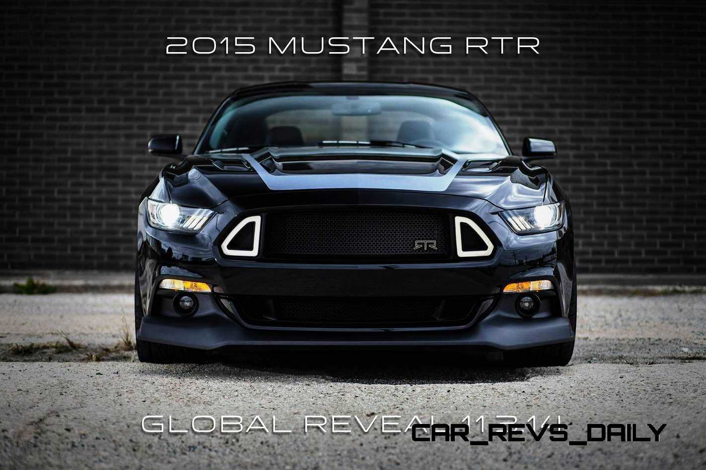 2015 Ford Mustang RTR Spec 5 Widebody Joins 'Ready to Rock' Custom Fords Catalog
