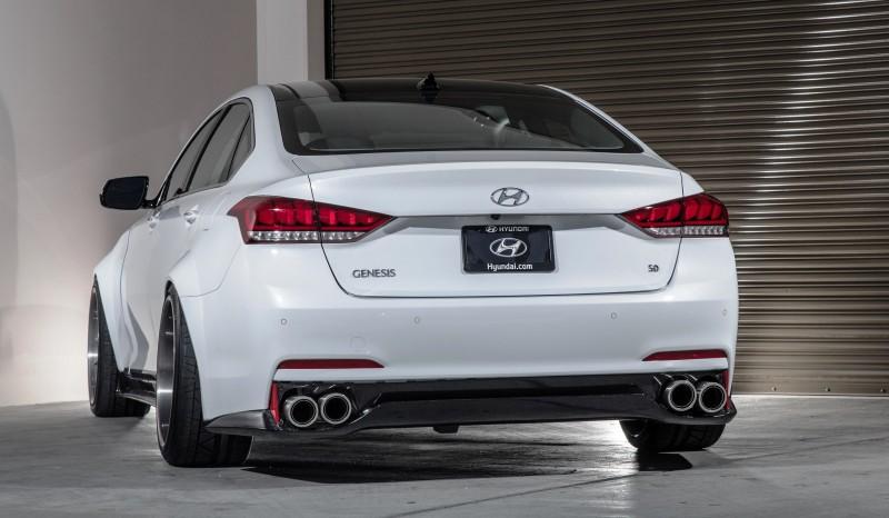 2015 Hyundai Genesis AR550 ARK Performance 3