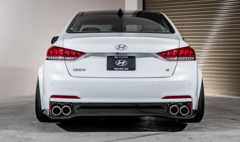 2015 Hyundai Genesis AR550 ARK Performance 5