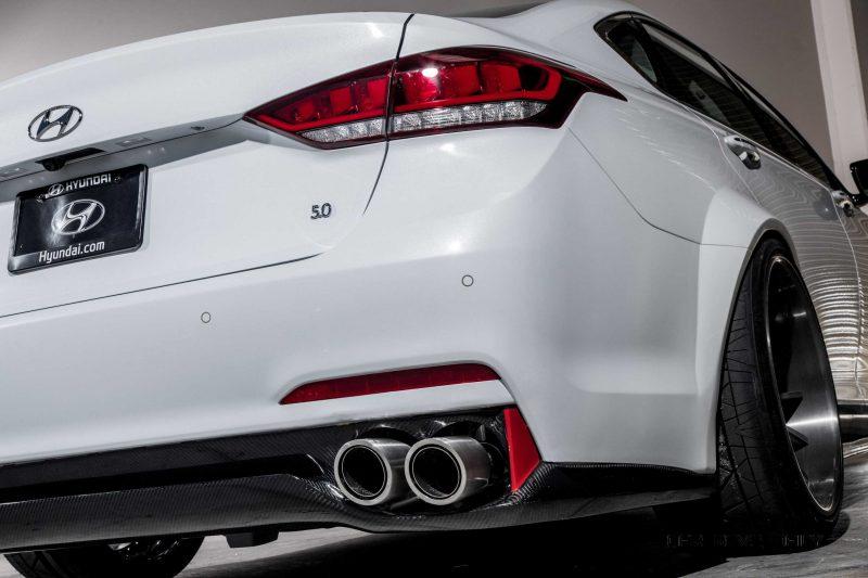 2015 Hyundai Genesis AR550 ARK Performance 8