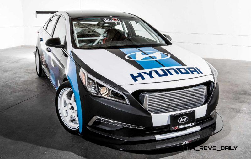 2015 Hyundai Sonata by BISIMOTO 9