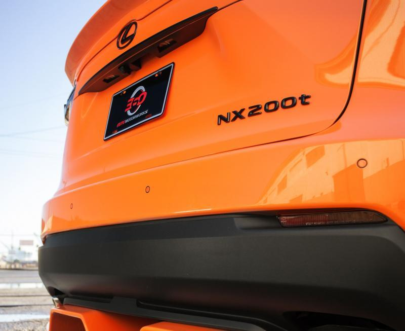 2015 Lexus NX 200t F SPORT by 360 Elite Motorworks 17