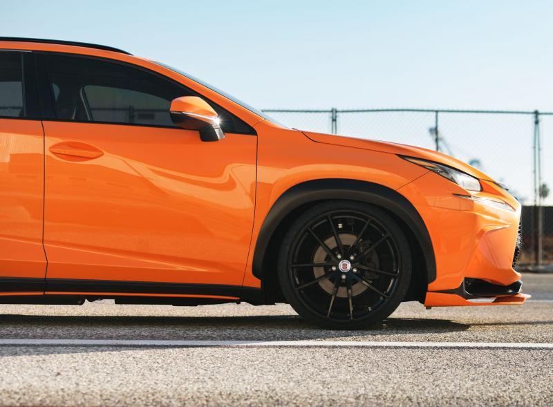 2015 Lexus NX 200t F SPORT by 360 Elite Motorworks 22