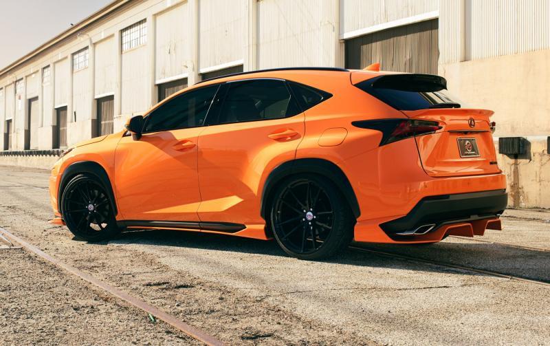 2015 Lexus NX 200t F SPORT by 360 Elite Motorworks 8