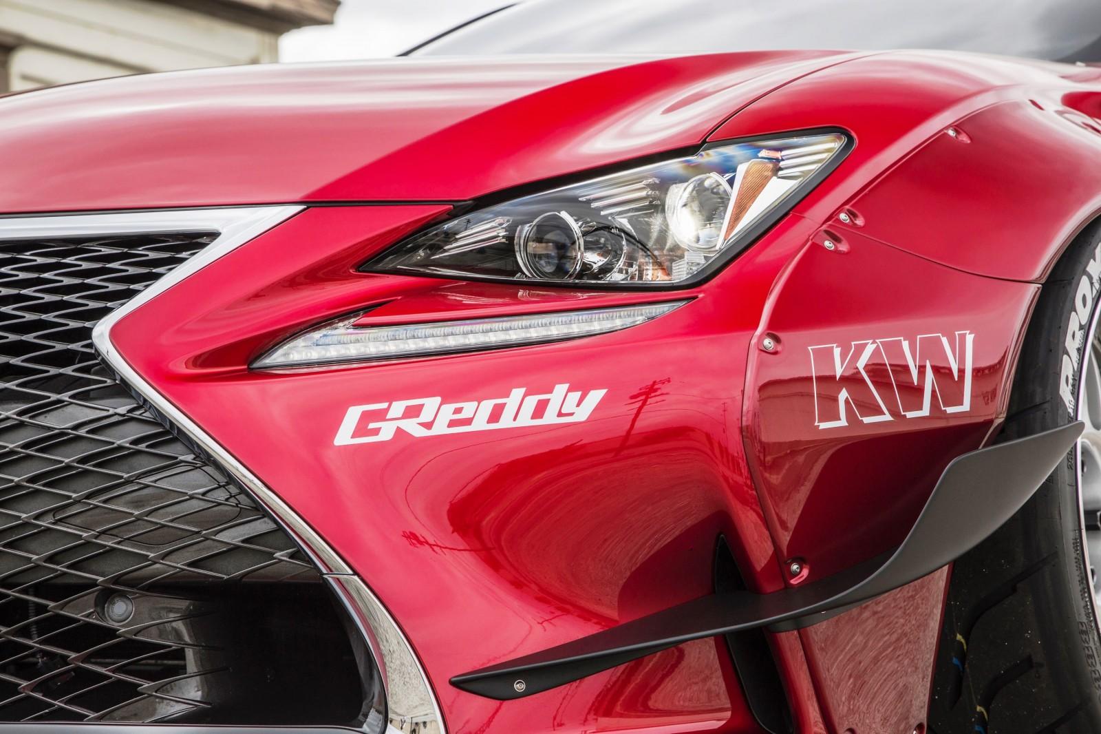 2015 Lexus RC350 F Sport Rocketbunny Widebody  10