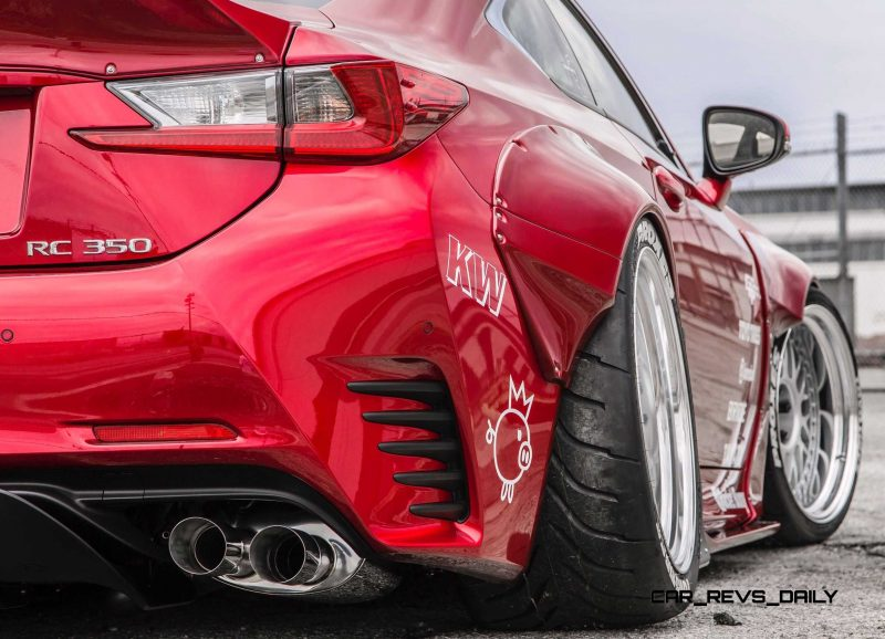 2015 Lexus RC350 F Sport Rocketbunny Widebody  14