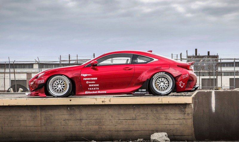 2015 Lexus RC350 F Sport Rocketbunny Widebody  2