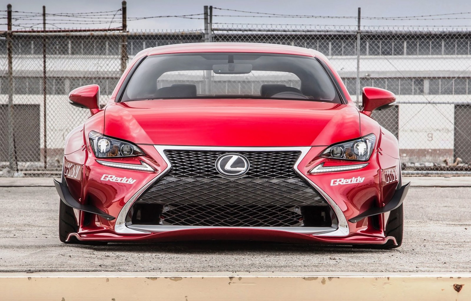 2015 Lexus RC350 F Sport Rocketbunny Widebody  3