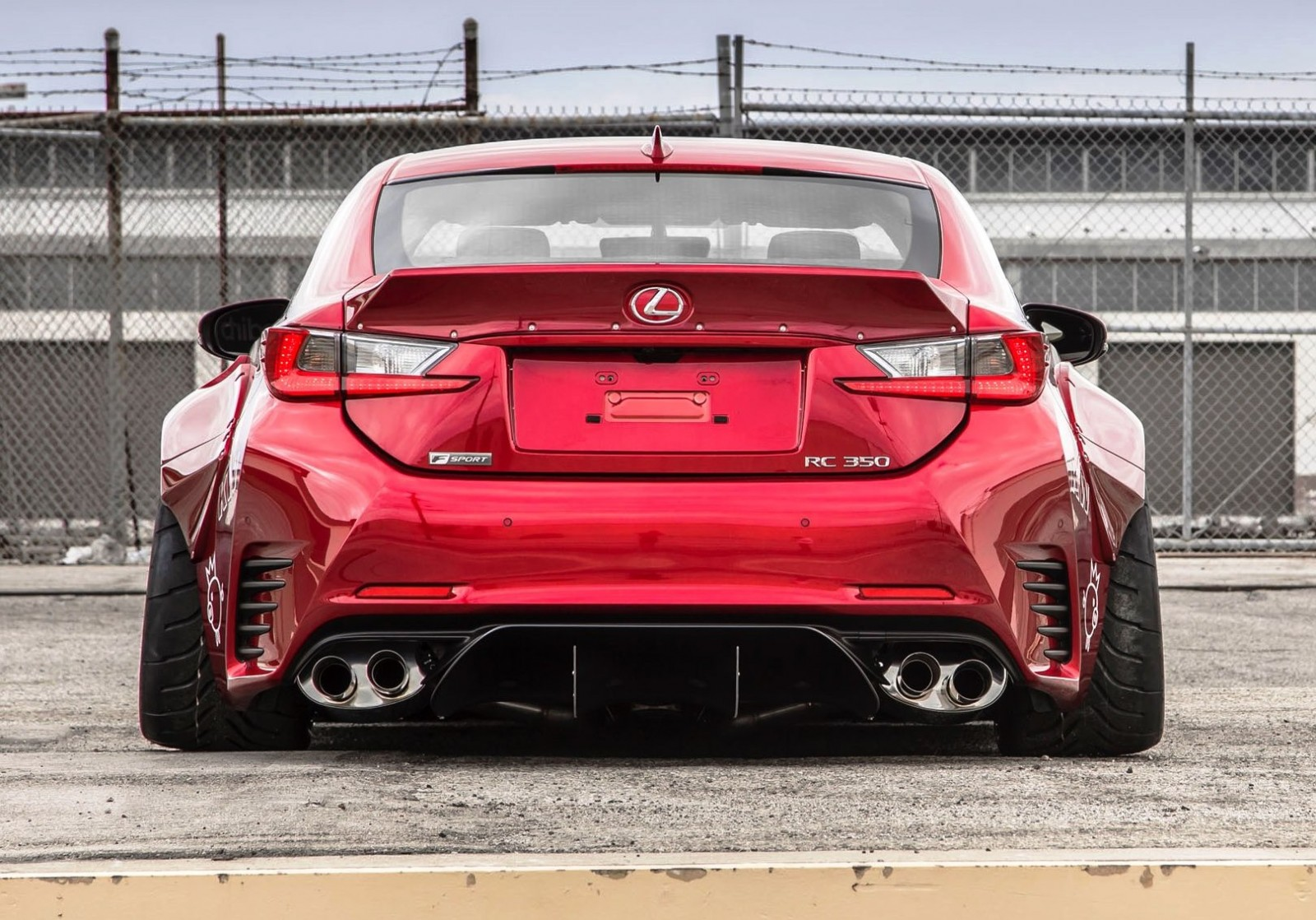 2015 Lexus RC350 F Sport Rocketbunny Widebody  5