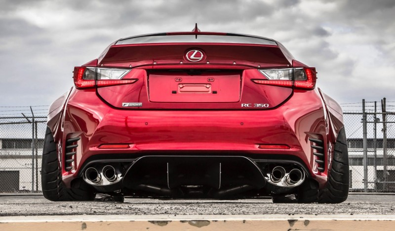 2015 Lexus Rc350 F Sport Rocketbunny Widebody