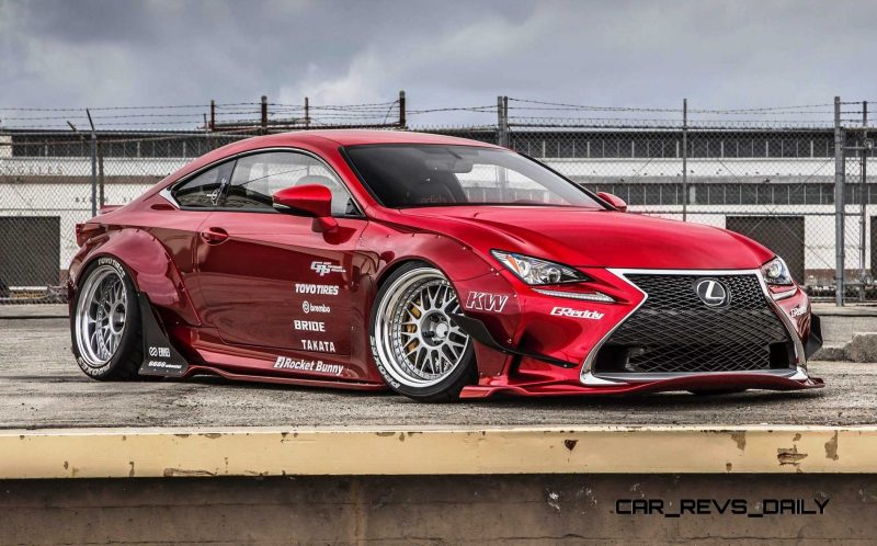 2015 Lexus RC350 F Sport Rocketbunny Widebody  8