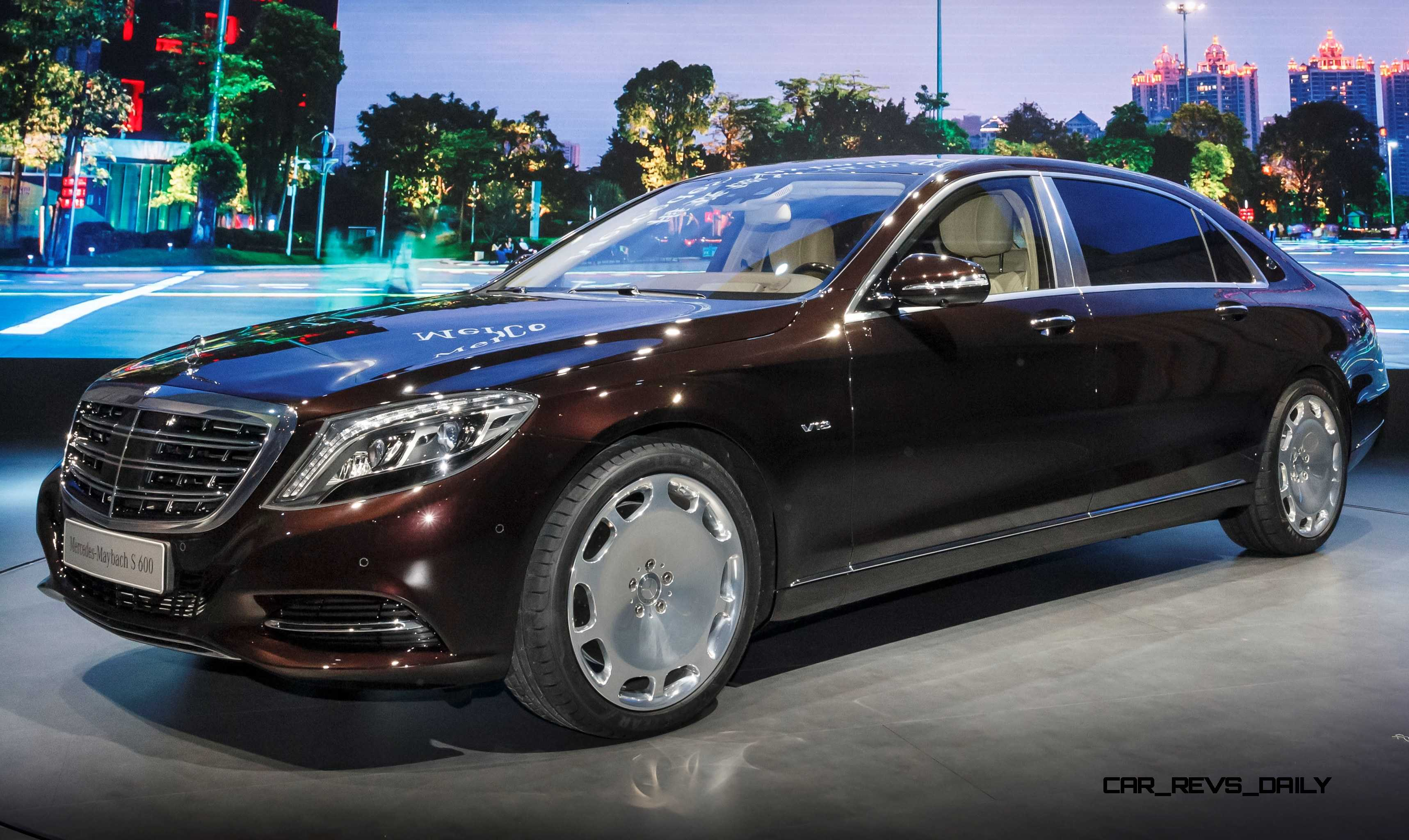 2015 mercedes maybach s600 brings royal upgrades to new for Mercedes benz s600 royale