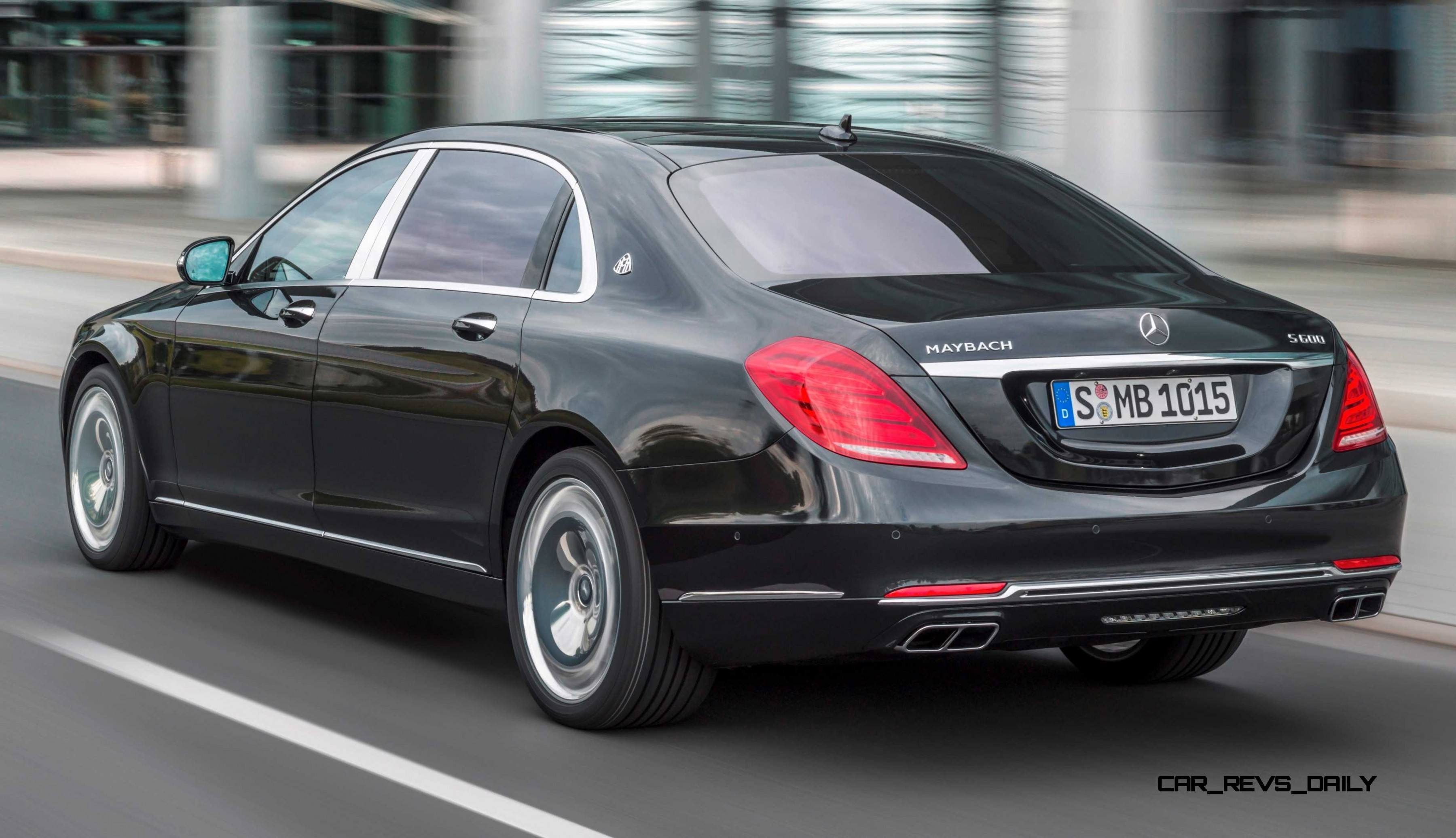 2015 mercedes maybach s600 brings royal upgrades to new for Mercedes benz s class 600