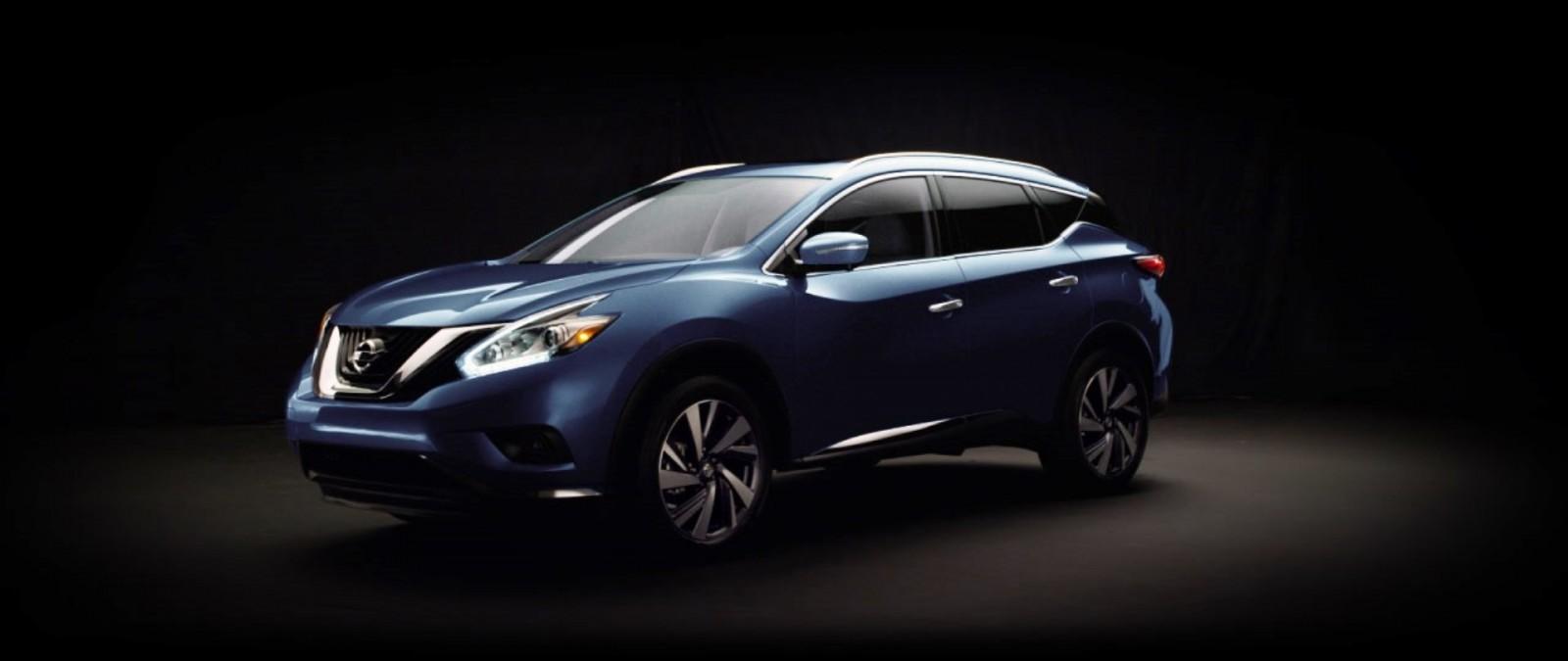 2015 Nissan Murano Arctic Blue Metallic 15