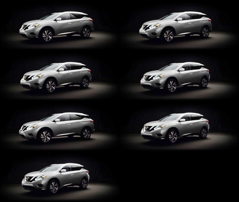 2015 Nissan Murano Brilliant Silver 1-tile