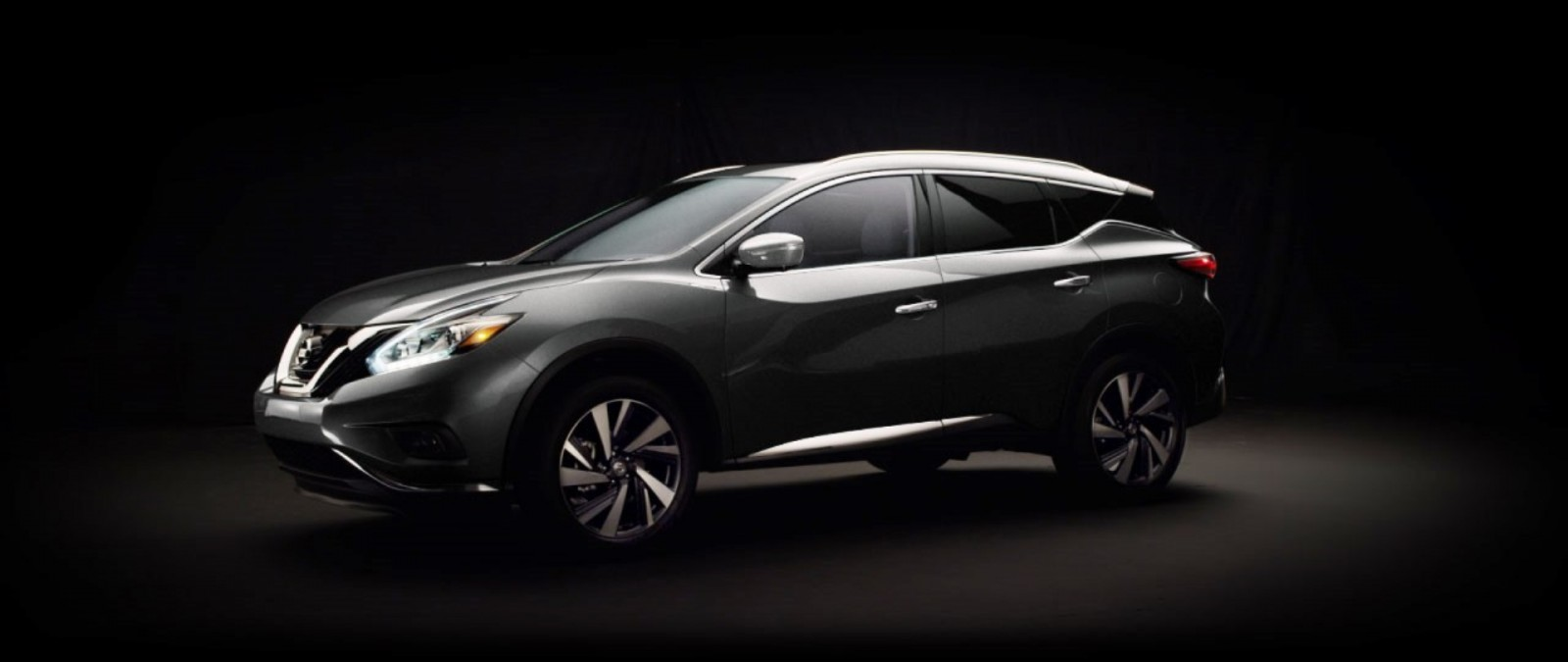 2015 Nissan Murano  Gun Metallic 1