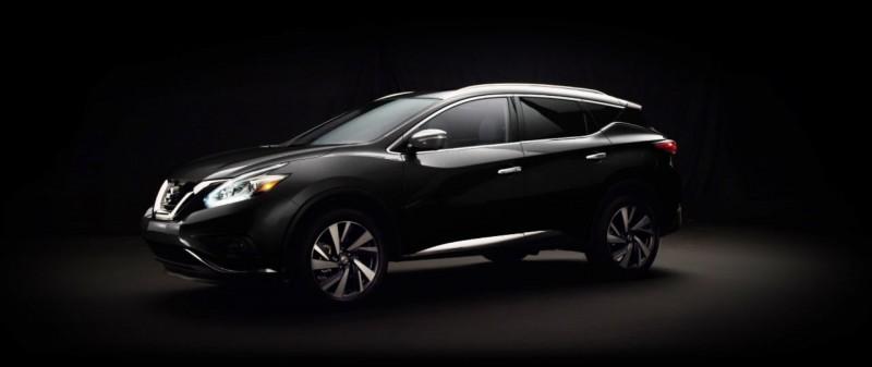 2015 Nissan Murano Magnetic Black 1