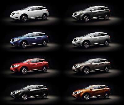 2015 Nissan Murano Pearl White 1-tile