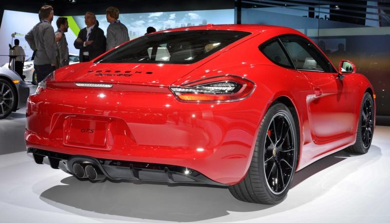 2015 Porsche GTS 3
