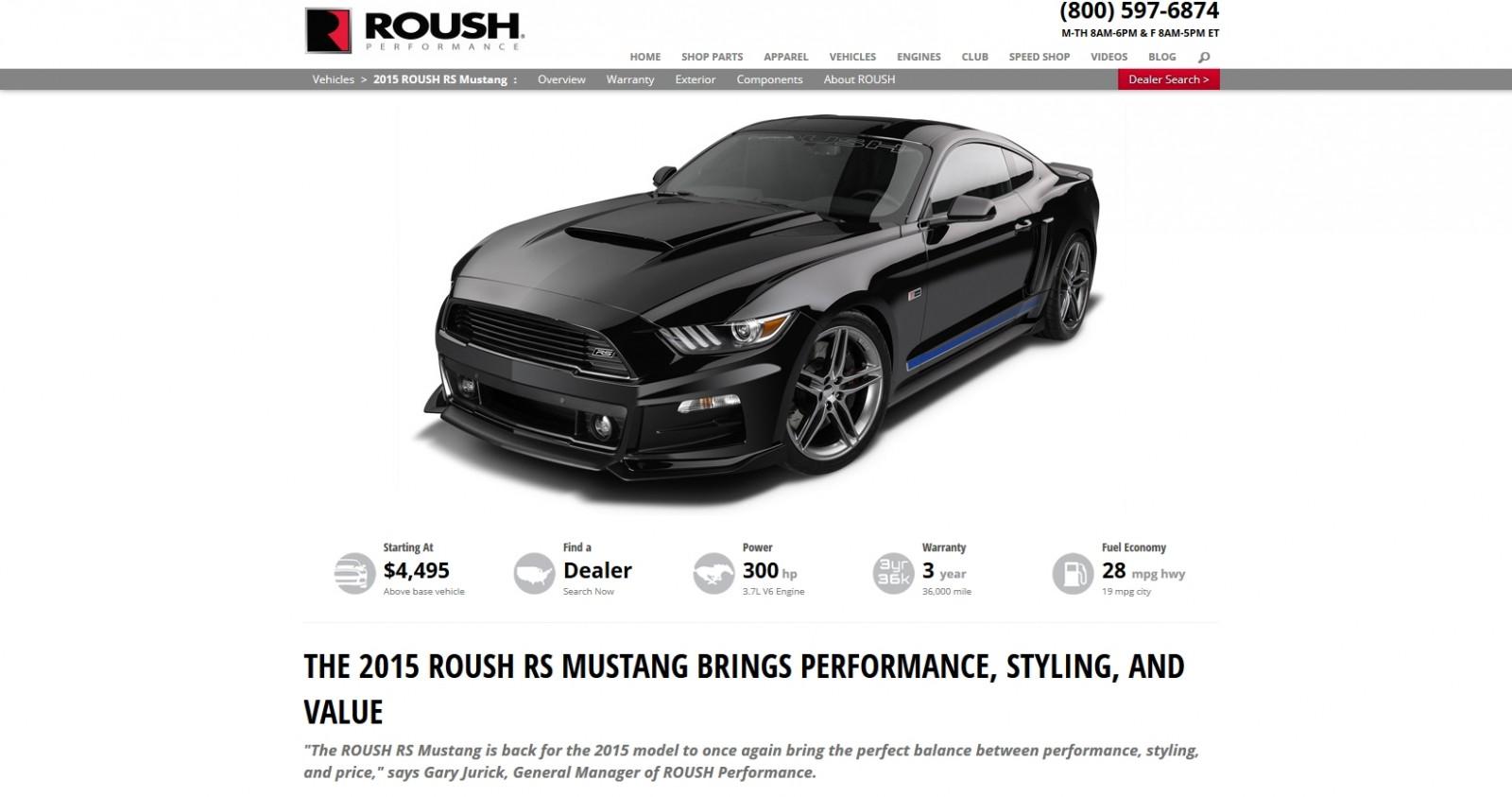 2015 ROUSH Mustang 1