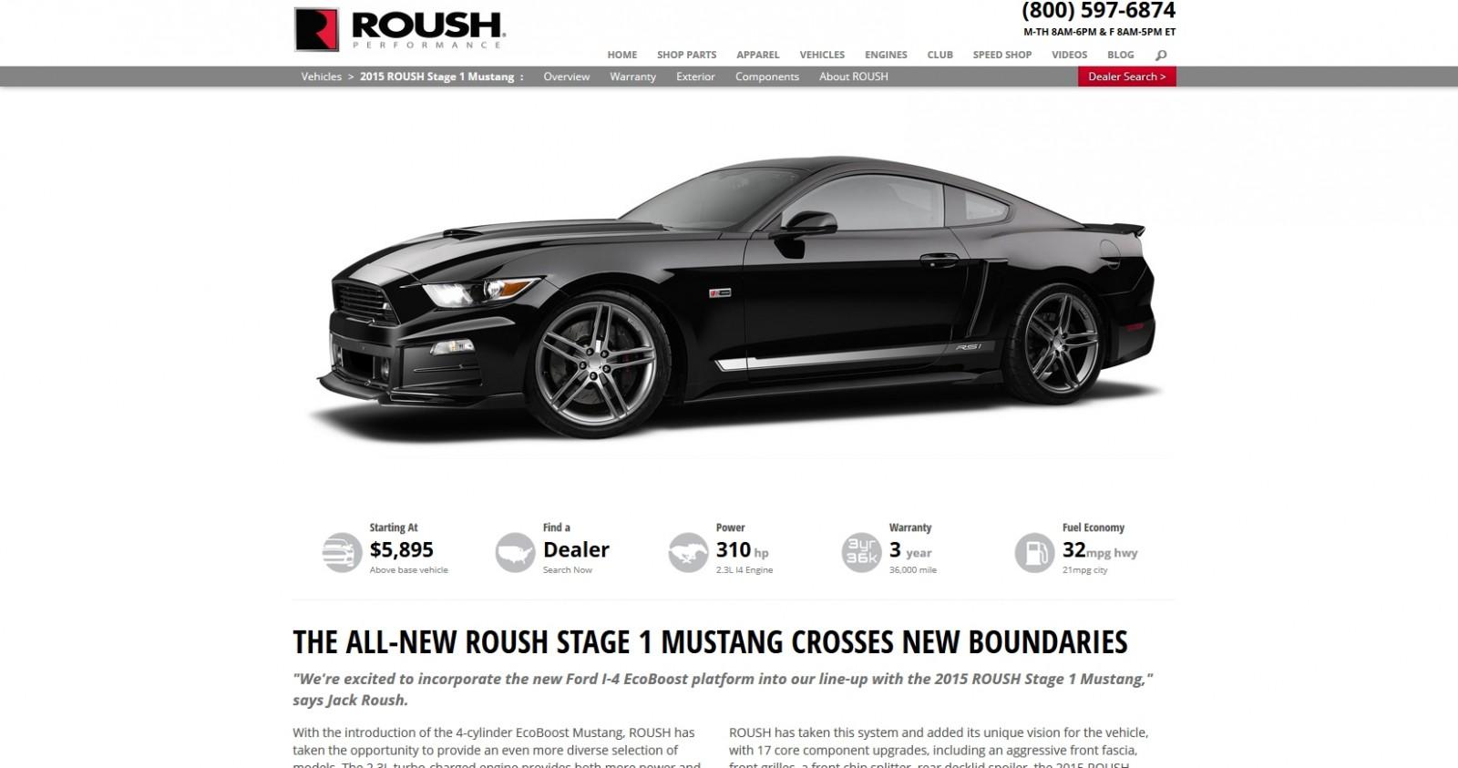 2015 ROUSH Mustang 2
