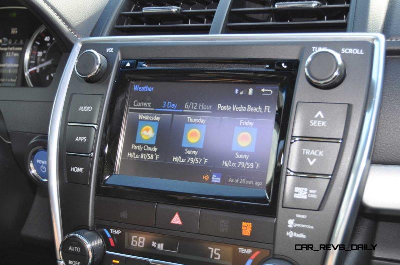 2015 Toyota Camry XLE V6 55