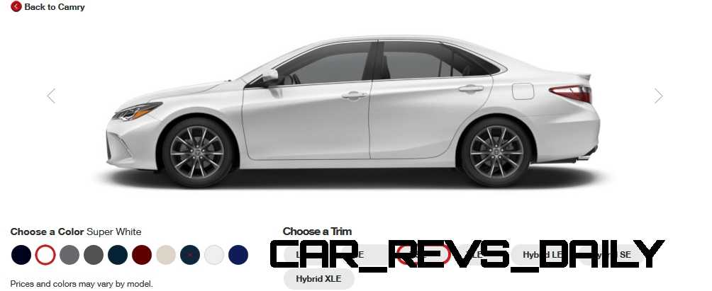2015 Camry Colors >> 2015 Toyota Camry Xle Colors 32