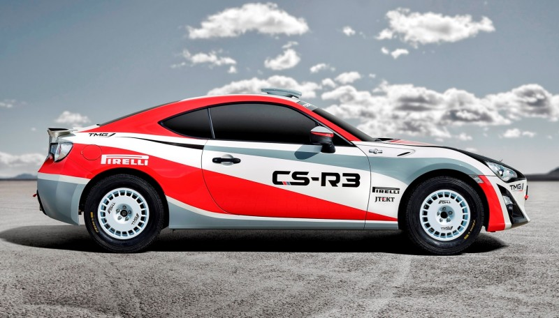 2015 Toyota GT86 CS R3 Rally Car 2