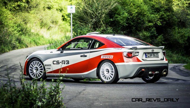 2015 Toyota GT86 CS R3 Rally Car 44