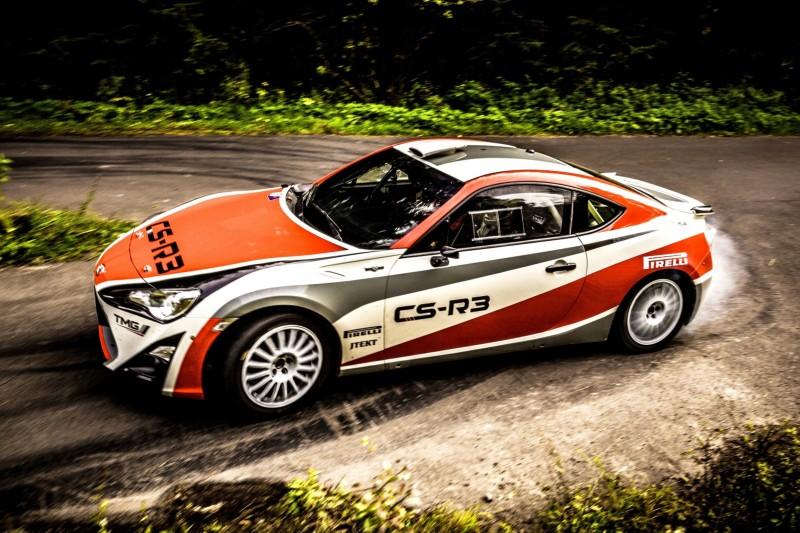 2015 Toyota GT86 CS R3 Rally Car 45