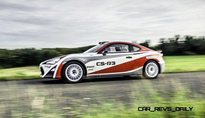 2015 Toyota GT86 CS R3 Rally Car 47
