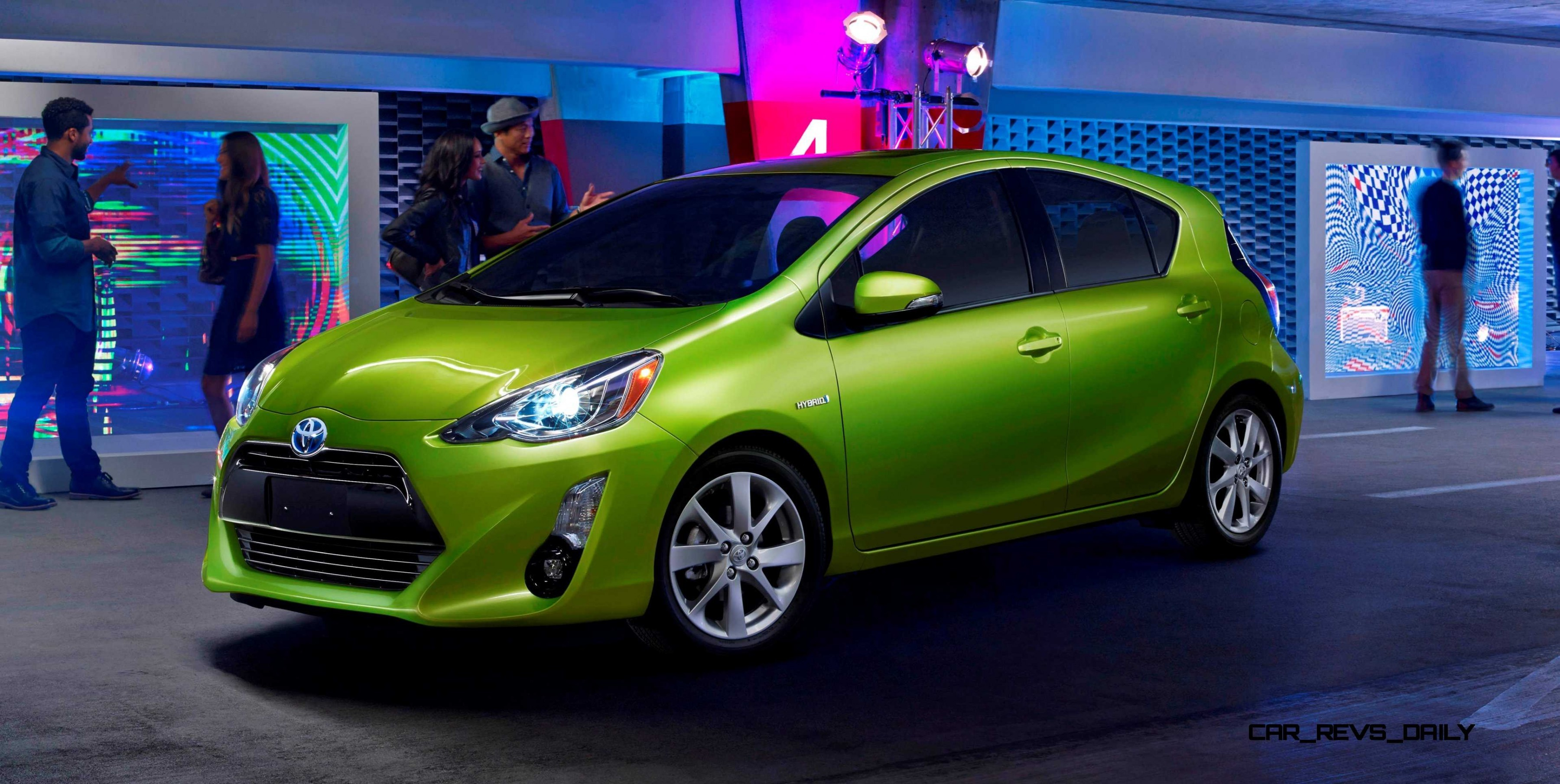2017 Toyota Prius C Light Bright And The Highest City Fuel Economy Of Any Vehicle Without A Plug